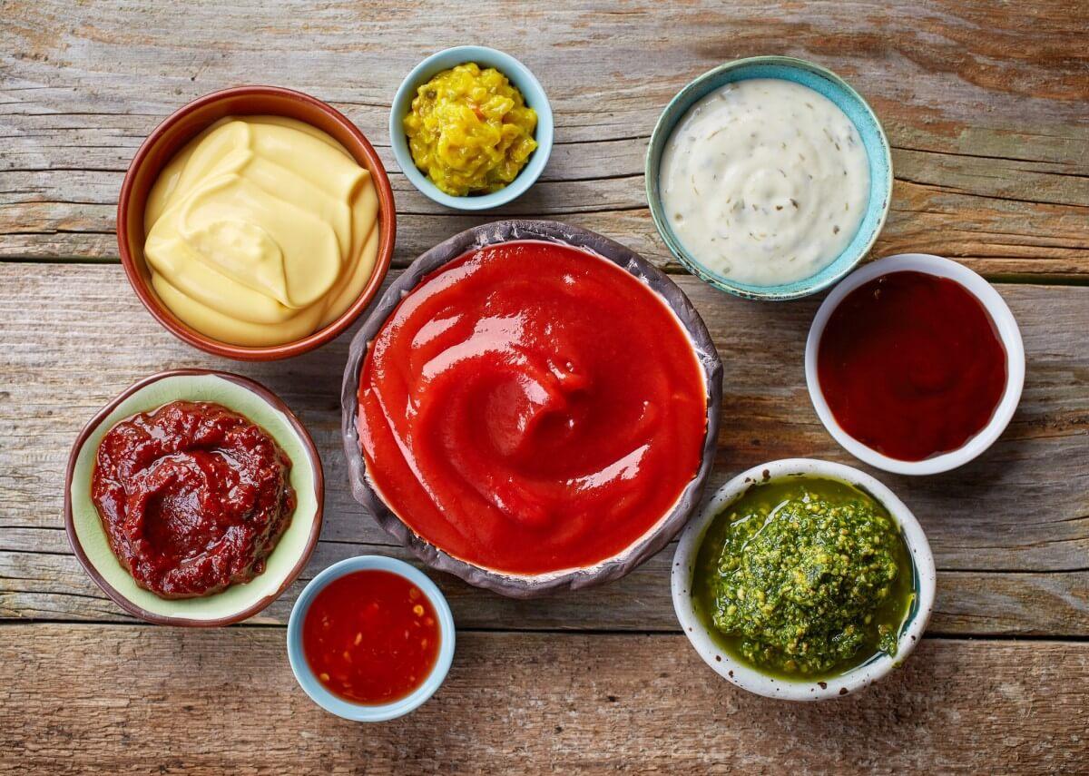 Balanced Food Nutrition Sauces