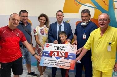 Идънред България се включи в дарение към Клиниката по детска хирургия на Пирогов