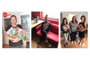 Идънред България събра детски книжки за библиотеки в болниците